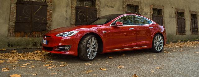 Tesla Model S 100D frontale