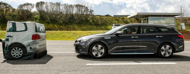 Test Adas Kia OPtima Sportswagon