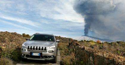 Test drive Jeep vulcano Etna