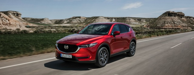 Top Safety Pick+ CX-5 rossa