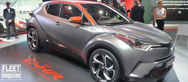 Toyota al Salone di Francoforte 2017 presenta il concept C-HR HY-POWER