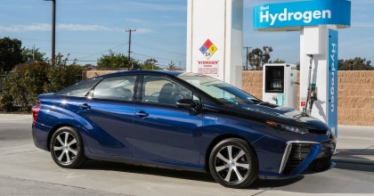 Toyota Mirai a idrogeno