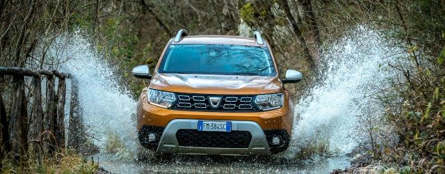 Trazione integrale nuova Dacia Duster 2018