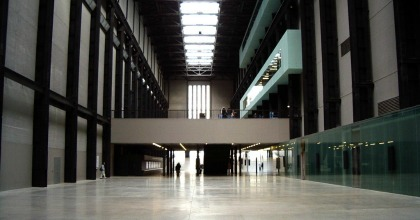 Turbin Hall Tate Modern Gallery Londra