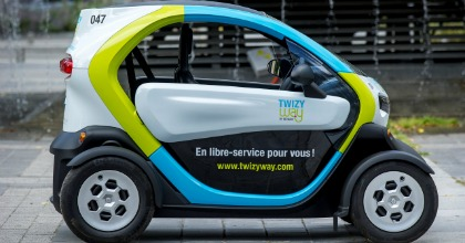 Twizy e car sharing