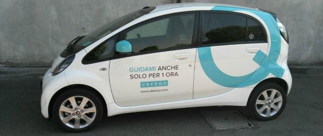 Ubeeqo business car sharing