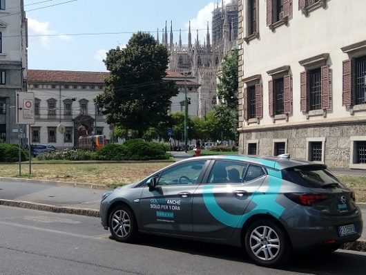 Ubeeqo Car Sharing