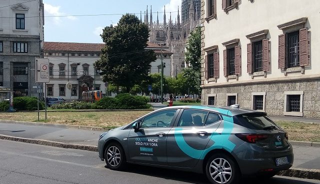 Ubeeqo Car Sharing