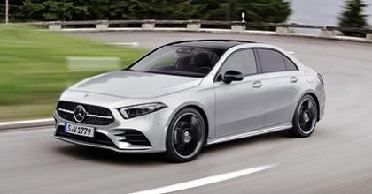 Uscita di Mercedes Classe A Sedan