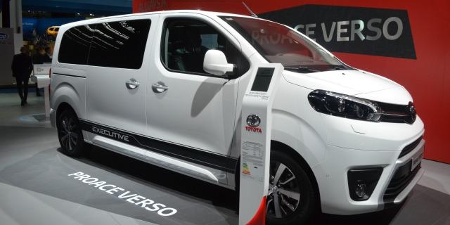 Veicoli commerciali 2018 Toyota Proace Verso