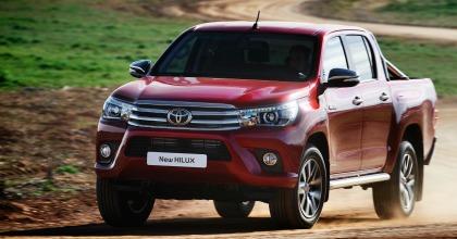 Il pick-up Toyota Hilux in azione