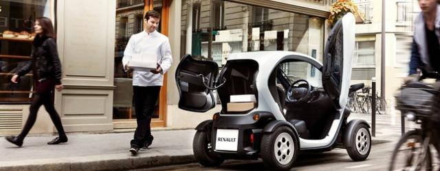 Veicolo commerciale elettrico Renault Twizy Cargo