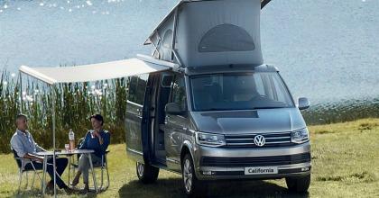 Volkswagen California noleggio lungo termine caravan
