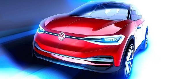 Volkswagen Roadmap E bozzetto