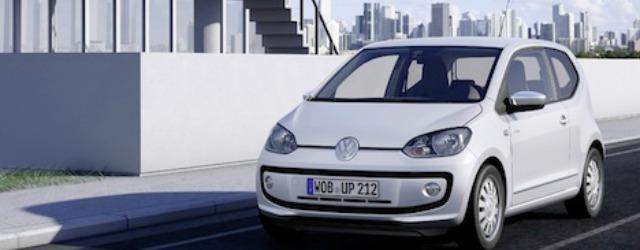 Auto a metano Volkswagen up!