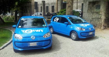 Car Sharing Milano: Volkswagen Up Twist