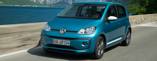 Auto a metano Volkswagen up!