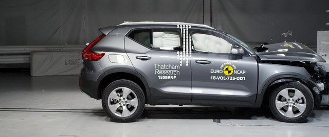 Crash Test Volvo XC40