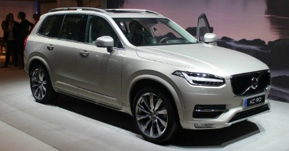 Volvo XC90 ibrida plug-in