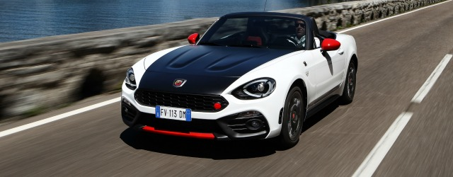 Abarth 124 spider fun collection hertz