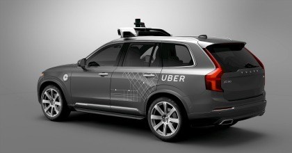 accordo guida autonoma Volvo Uber