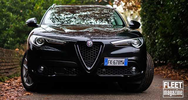 Gamma Alfa Romeo Business Stelvio su strada