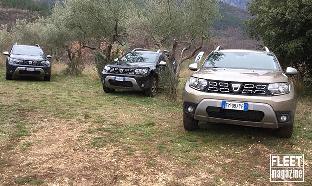 Allestimenti Dacia Duster 2018