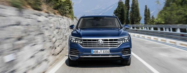 allestimenti nuova Volkswagen Touareg 2018