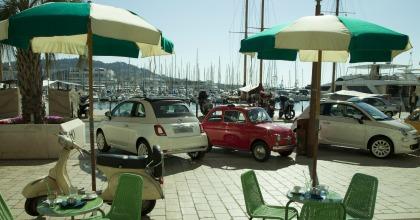 speciale allestimento a Cannes per il