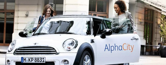 AlphaCity corporate car sharing Alphabet lotta emissioni