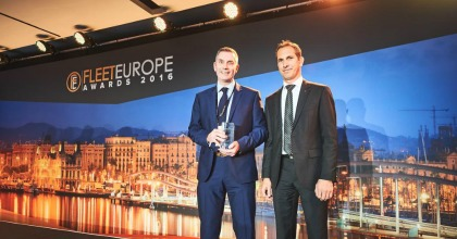Andy Leeden Fleet Europe Awards 2016