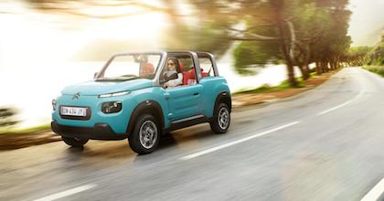Citroën Mehari, ora E-Mehari, ha tagliato il traguardo del mezzo secolo dal lancio