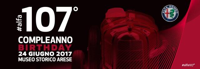 L'annuncio dell'anniversario Alfa Romeo