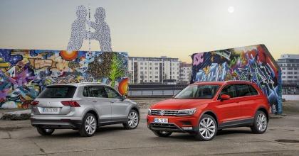anteriore e posteriore della Volkswagen Tiguan Business