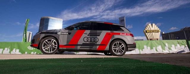 Intelligenza artificiale Audi Q7 Deep Learning Concept