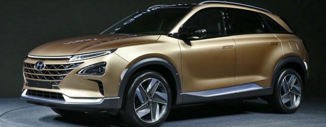 auto a idrogeno Hyundai Fuel Cell