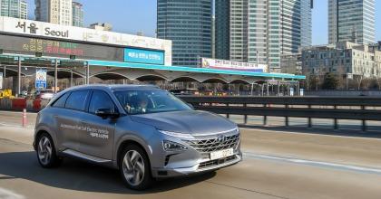 auto a idrogeno nuova Hyundai Nexo