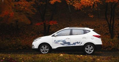 Un esempio di auto a idrogeno: Hyundai ix35 FCEV