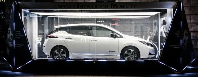 auto elettriche 2018 nuova Nissan Leaf