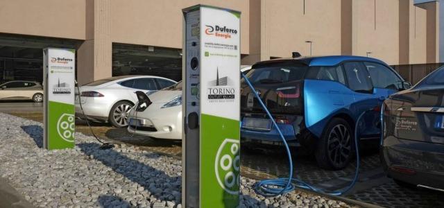 auto elettriche Duferco Energia