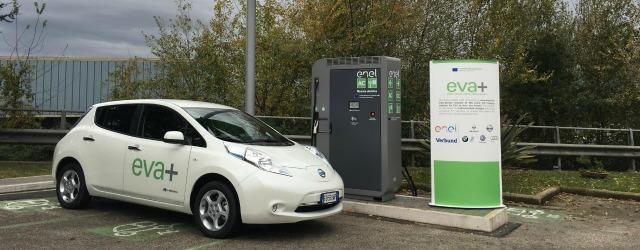 auto elettriche progetto EVA+ Nissan LEAF