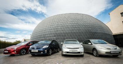 auto ibride Toyota generazioni Prius