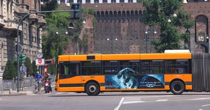 autobus elettrici a Milano per ATM