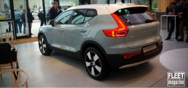 back nuova Volvo Xc40 2018