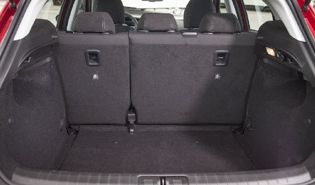 Il bagagliaio della Fiat Tipo 5 porte