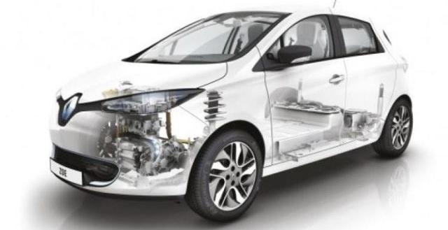 La batteria della nuova Renault Zoe