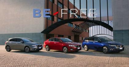 Leasys BE-FREE e Fiat noleggio a lungo termine