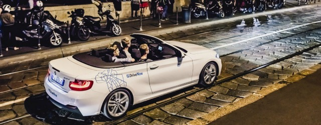 Il car sharing di DriveNow insieme a Generali Itlia premia la guida responsabile degli utenti