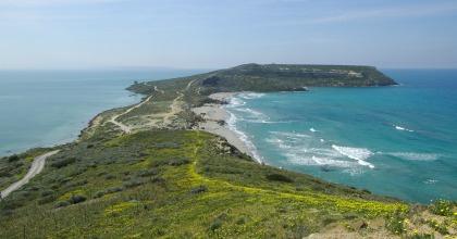 Capo San Marco penisola SIlis