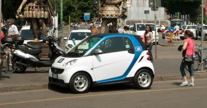 Auto in car sharing, Roma segue Milano